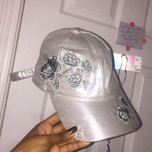 Silver hat